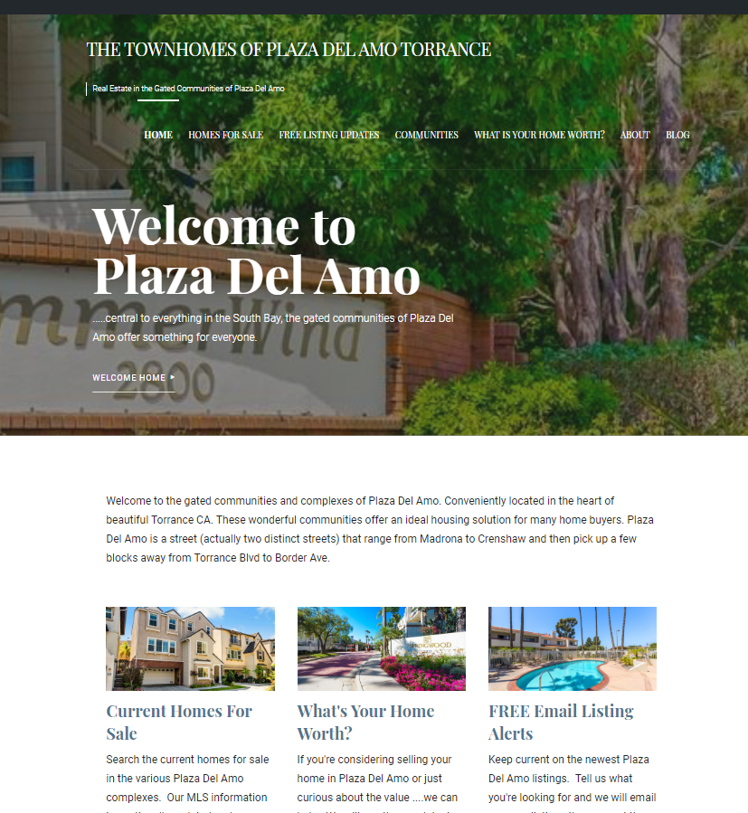Windemere Torrance: New Real Estate Portal Created Specifically For Plaza Del